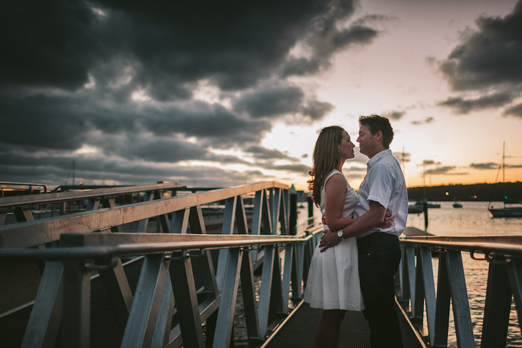 A nautical themed engagement shoot at Vaucluse and Watsons Bay