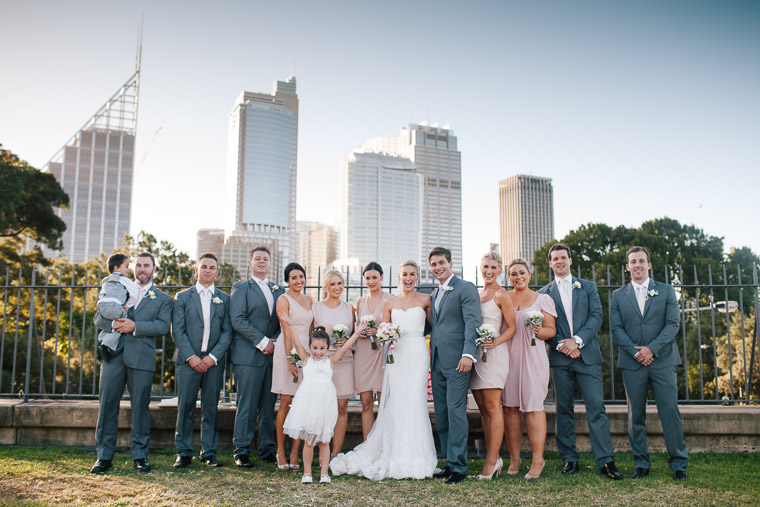 Louise & Sam's The Rocks and Royal Botanical Gardens Wedding, Sydney