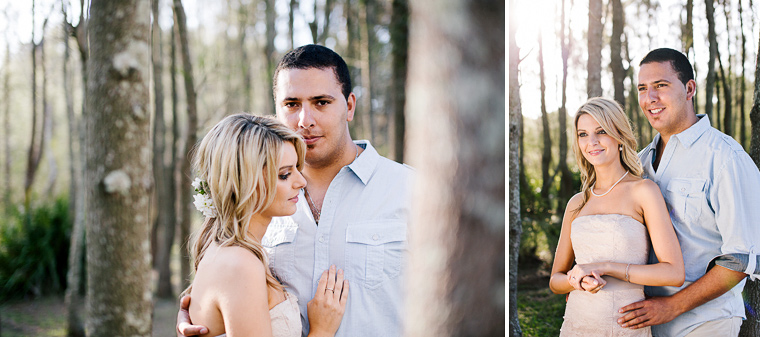 Roslyn & Andrew's lakeside prewedding. A rowboat get away along the lakeside.