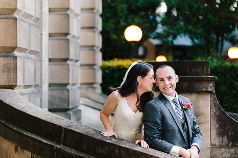 Kate & Daniel's National Art School Wedding, Sydney