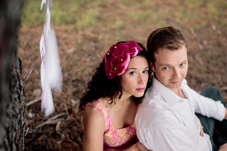 Carly & Lee's Woodland Picnic Prewedding
