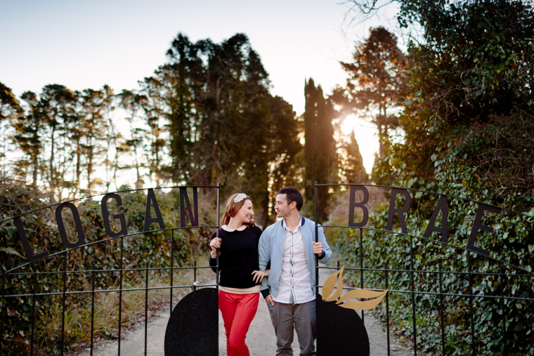Melissa & Tom's Logan Brae Apple Orchard Prewedding