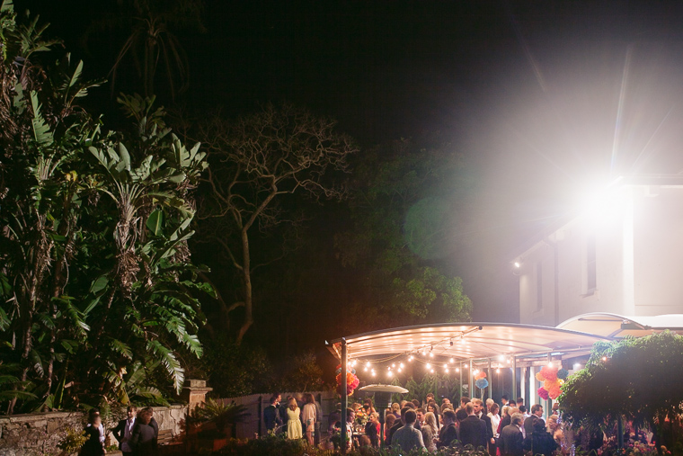 Alexandra & Phillip's Glamorous Backyard Barbecue Wedding