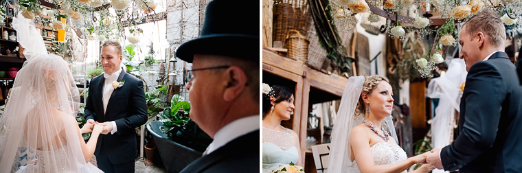 Kat & James's Eclectic Wedding