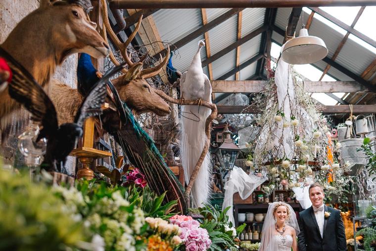 Kat & James's Eclectic Wedding